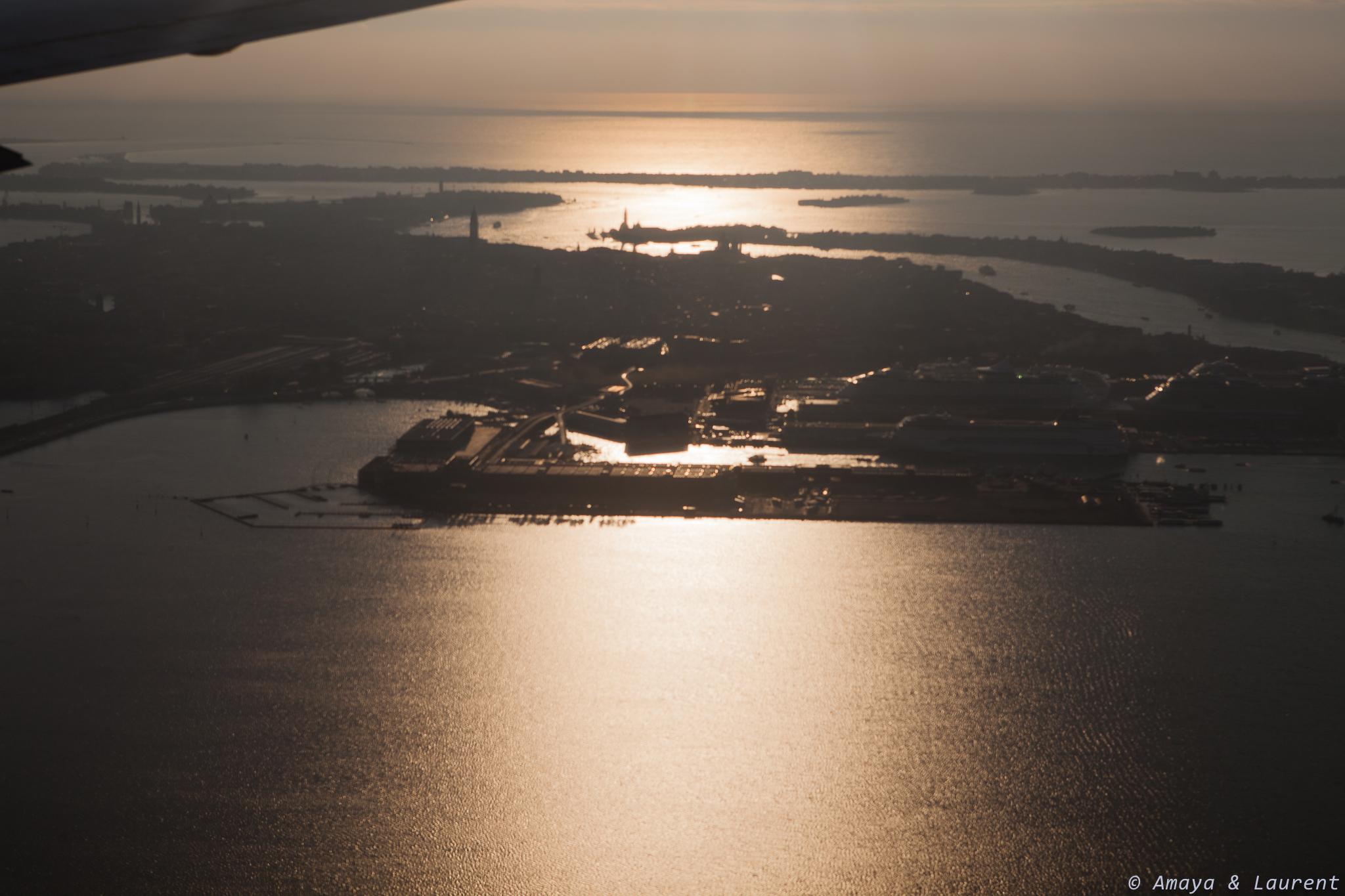 Venise  vu d'avion