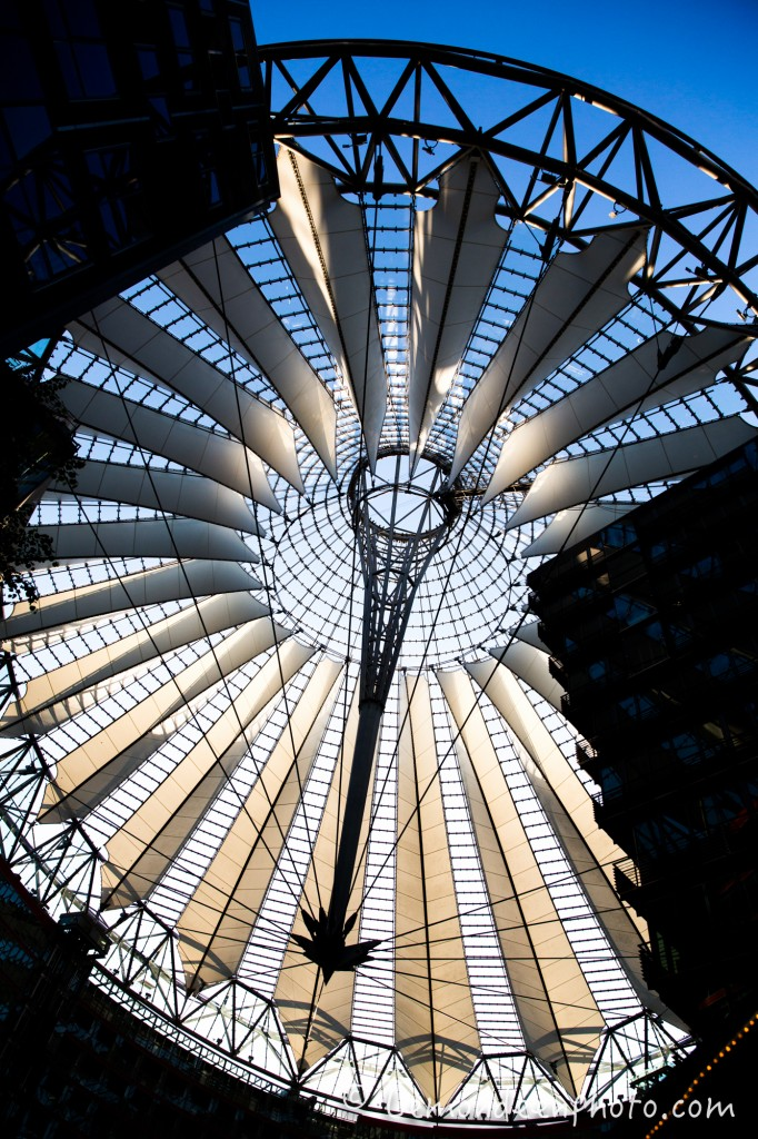 sony center, le toit