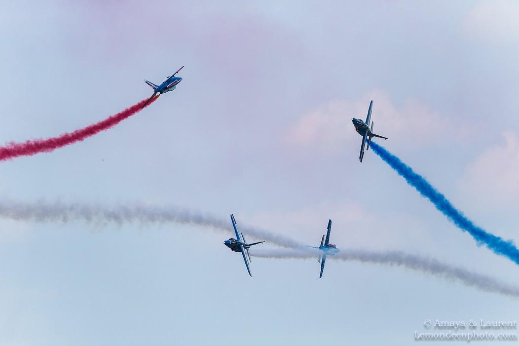 Patrouille de France, Belgian air force days