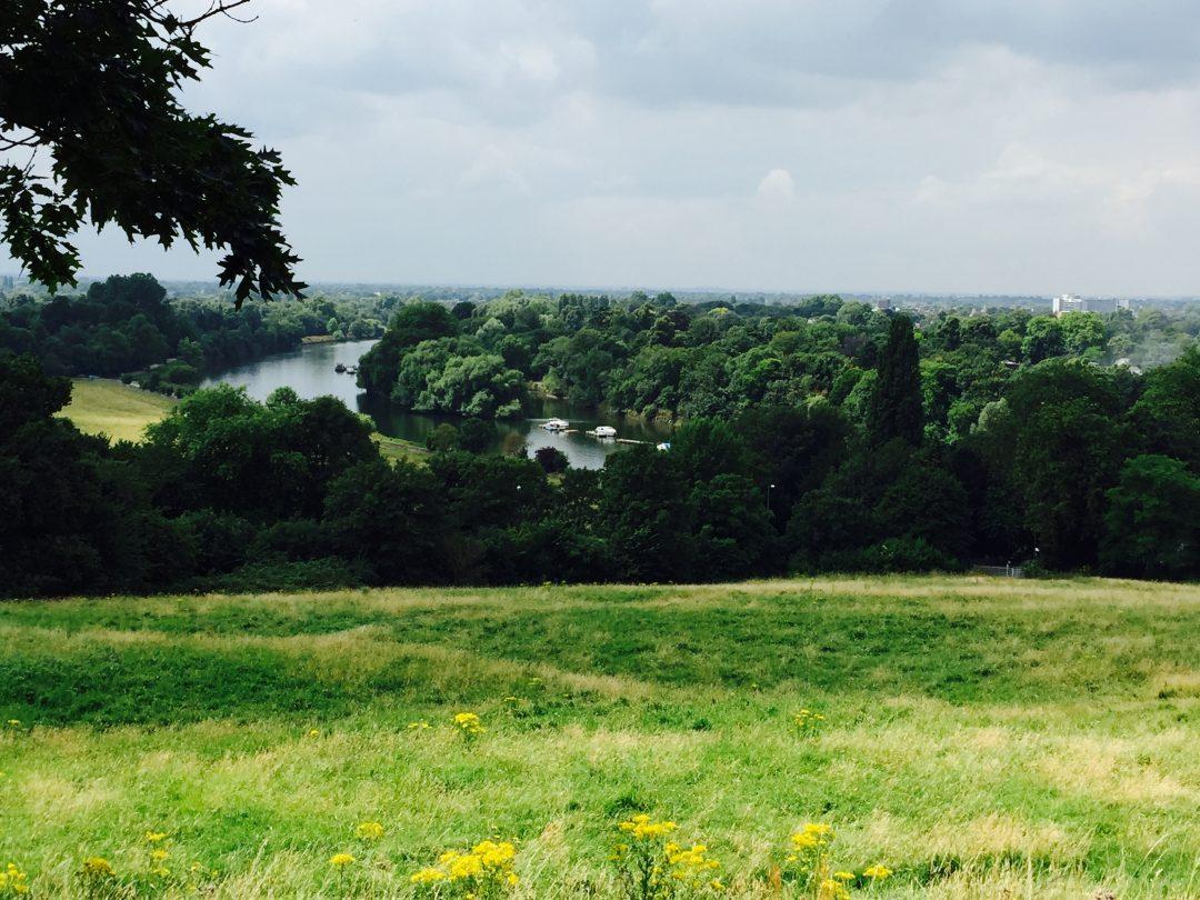 Escapade à Richmond, dans la campagne londonienne